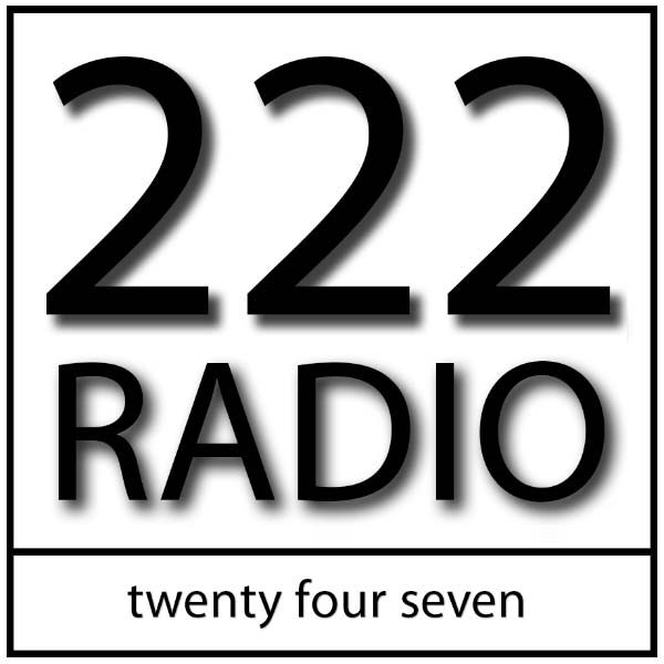 Logo for 222 RADIO